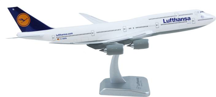 Hogan Wings Aircraft scale model, Boeing 747-8i Lufthansa, Scale 1