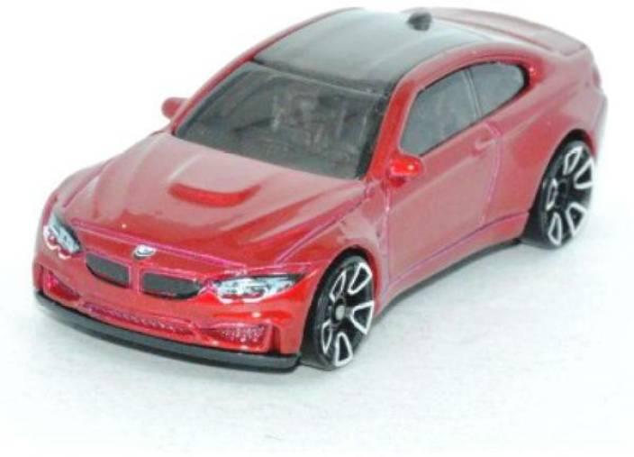 Hot Wheels Bmw M4 Toy Car Red