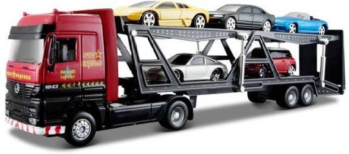 07d1f414d0af4 Maisto Truck Line Car Carrier Trailer - Truck Line Car Carrier ...