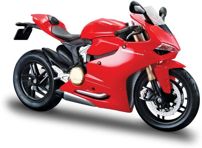 Maisto Ducati 1199 Panigale 1 18 Toy Bike Model Red