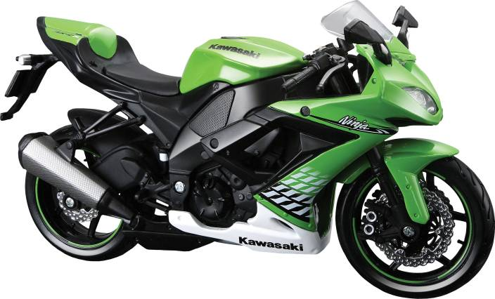 MAISTO Kawasaki Ninja ZX-10R - Kawasaki Ninja ZX-10R . shop for MAISTO  products in India. Toys for 3 - 11 Years Kids. | Flipkart.com