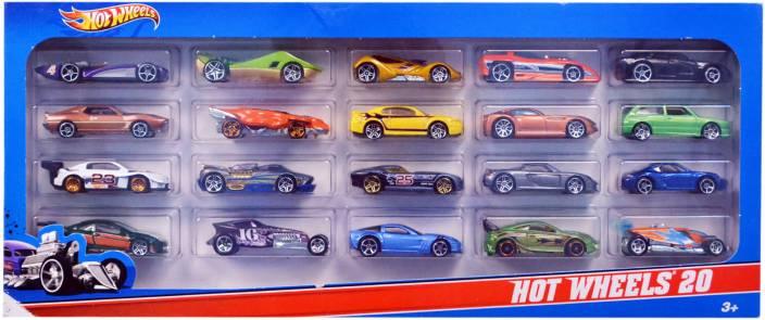 9ff1f59c2e02c Hot Wheels Pack of 20 Cars