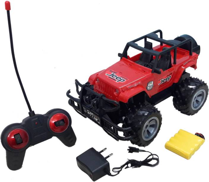 Wishkart Multi Functional Realistic Remote Controlled Jeep Truck