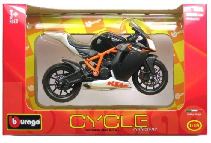 Bburago Ktm 1190 Rc8 R Diecast Motorcycle Ktm 1190 Rc8 R Diecast
