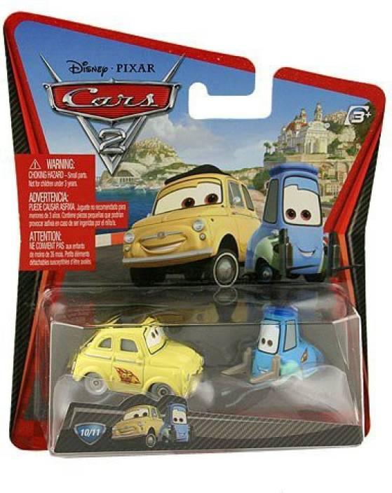 sale retailer 2b769 e5531 Mattel Disney Pixar CARS 2 Movie 155 Die Cast Car Guido ...