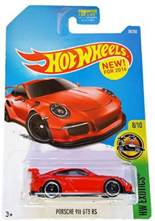 Hot Wheels Porsche 911 Gt3 Rs Toy Car Porsche 911 Gt3 Rs Toy Car