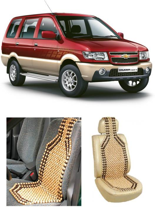 Swan Hd Wooden Bead Seating Pad For Chevrolet Tavera Price In India