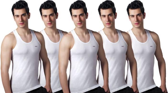 4dbeae9f9603e LUX Men s Vest - Buy White LUX Men s Vest Online at Best Prices in ...