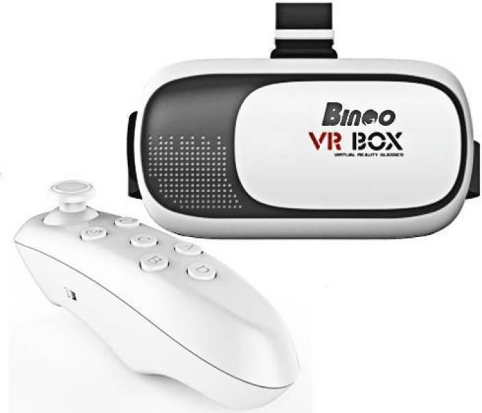 Bingo V200 VR BOX Virtual Reality 3D Video Glasses+ Bluetooth Remote Controller Video Glasses