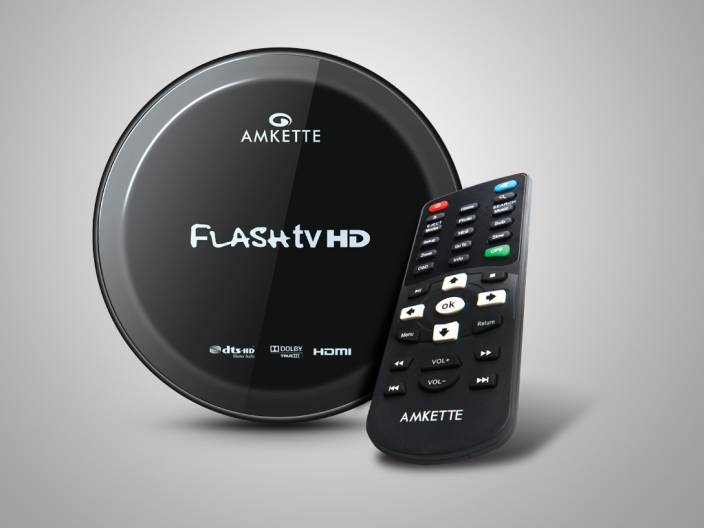 Amkette Flash TV HD 1080P Blu-ray Player