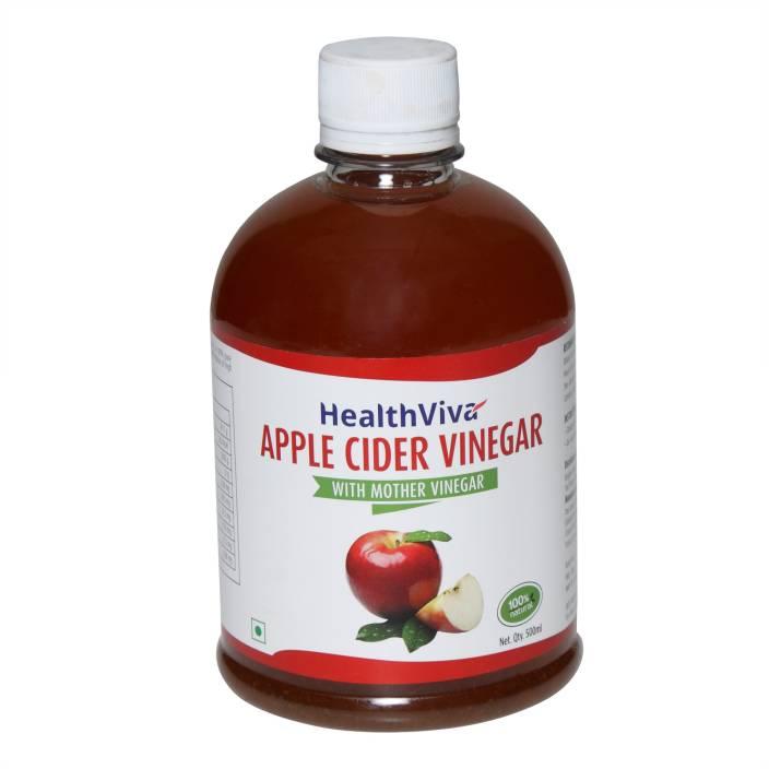 HealthViva Apple Cider Vinegar(With Mother Vinegar) Apple Cider Vinegar