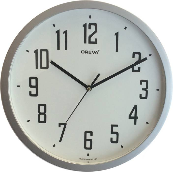 30 wall clock rustic ajanta oreva analog 30 cm wall clock price in india buy