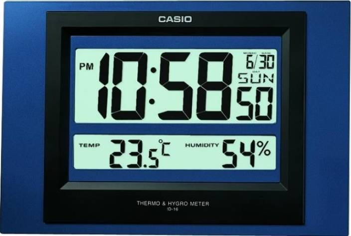 Casio Digital Wall Clock Price In India Buy Casio