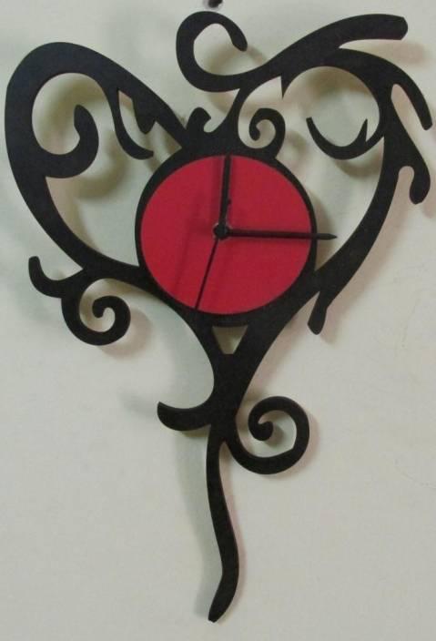 abd0eacb7626 Furnish Living Analog 35 cm X 25 cm Wall Clock Price in India - Buy ...