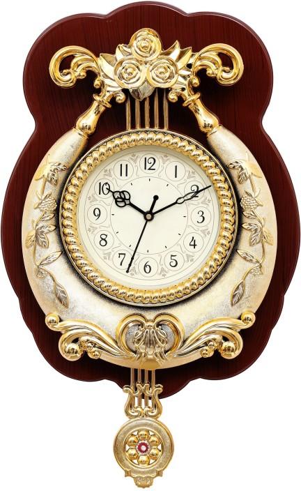 wallace designer pendulum analog wall clock