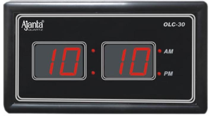 ajanta digital wall clock