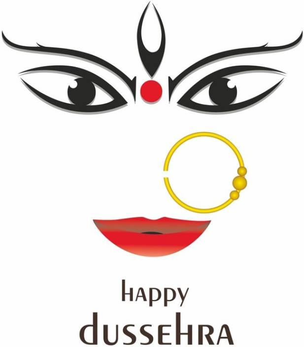 Happy walls Maa Durga/Kali - Happy Dussehra