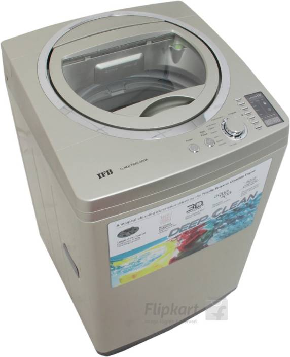 IFB 7.5 kg Fully Automatic Top Load Washing Machine Gold