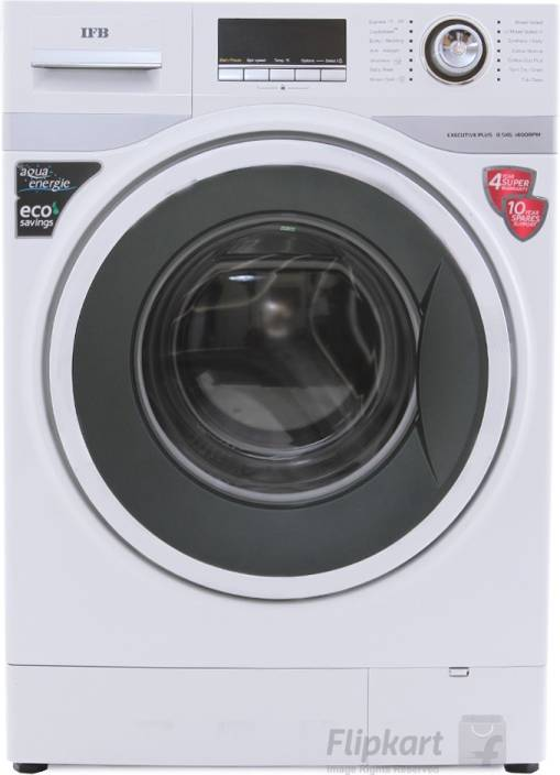 IFB 8.5 kg Fully Automatic Front Load Washing Machine White