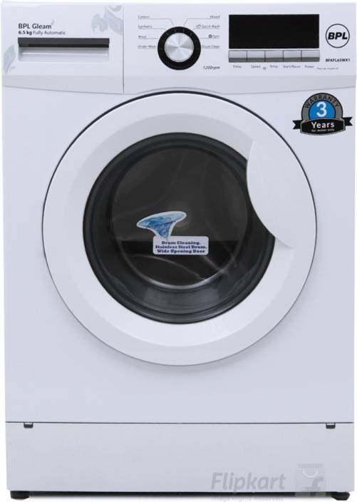 Bpl 6 5 Kg Fully Automatic Front Load Washing Machine