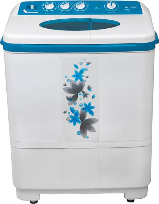 Hyundai 7.2 kg Semi Automatic Top Load Washing Machine