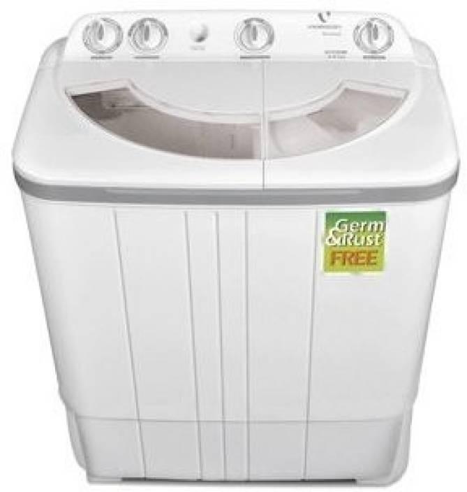 Videocon 6 kg Semi Automatic Top Load Washing Machine Grey