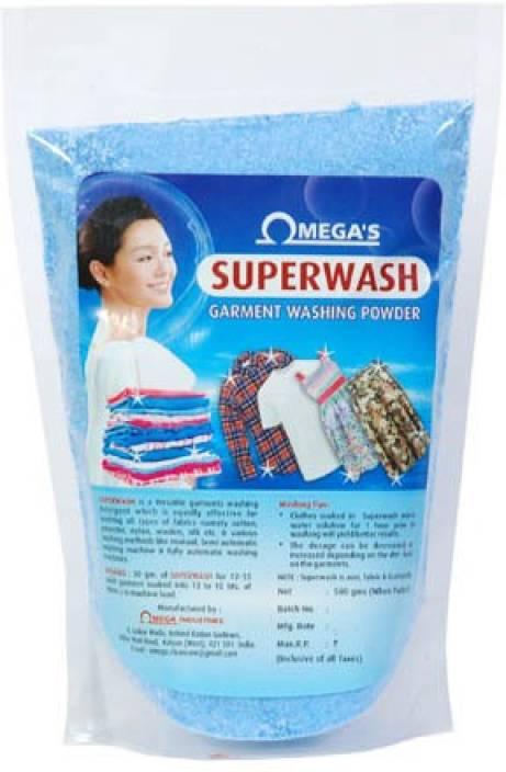 Omega Laundry Detergent 500 g Washing Powder