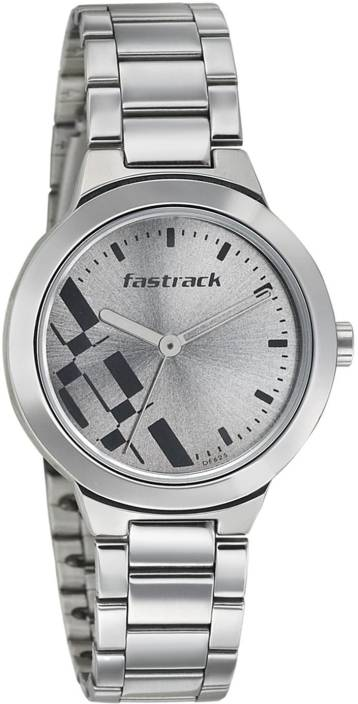 75c124b7e Fastrack 6150SM01 Watch - For Women - Buy Fastrack 6150SM01 Watch - For  Women 6150SM01 Online at Best Prices in India