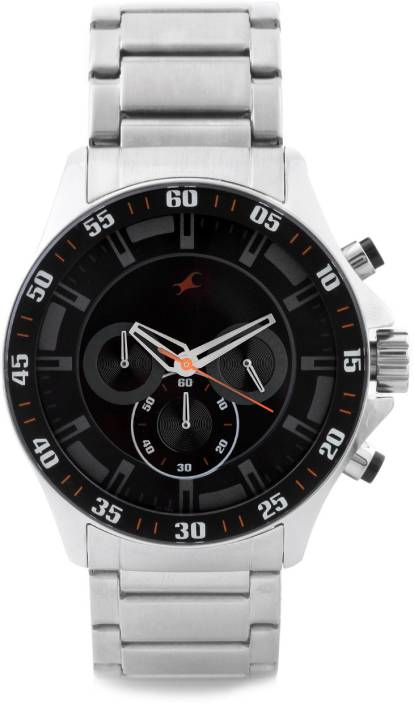 fastrack nd3072sm04 chronograph analog watch for men buy fastrack nd3072sm04 chronograph analog watch for men