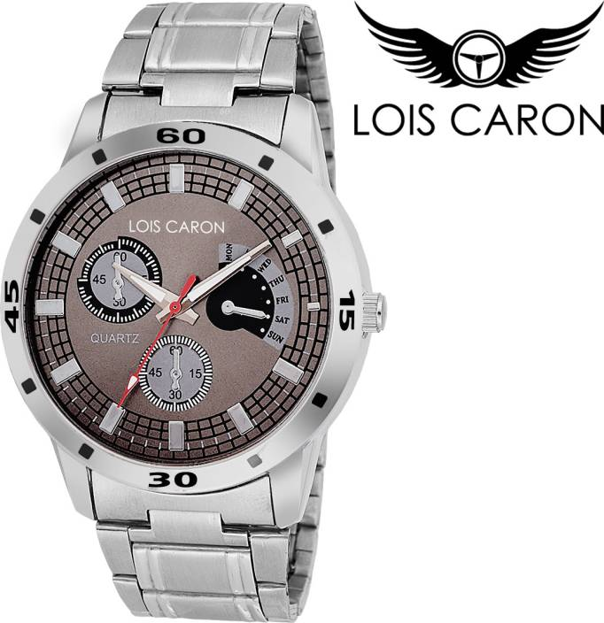 Lois Caron LCS-4047 CHRONOGRAPH PATTERN ANALOG WATCH MULTICOLOR DIAL Watch  - For Boys