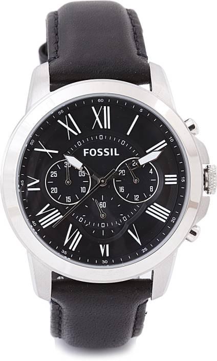 fossil fs4812i grant analog watch for men buy fossil fs4812i fossil fs4812i grant analog watch for men