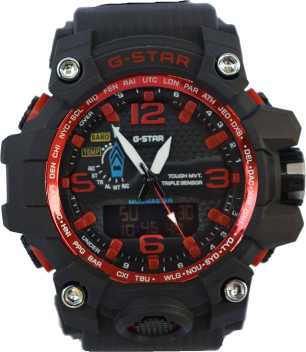 new product 8deec 7585b Creator G-Star Triple Sensor Sports Protection Watch - For ...
