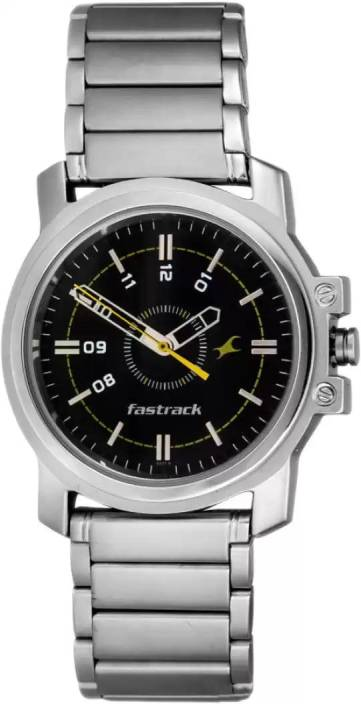 Fastrack NG3039SM02 Basics Watch - For Men