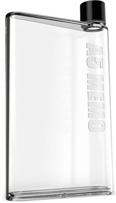 TrulyFab A5 Memo Bottle 420 ml Bottle (Pack of 1, Clear, Pink, Brown, Black)