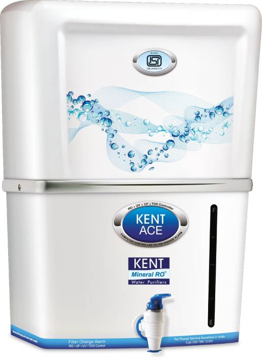 Kent Ace Mineral TM 7 L RO + UV +UF Water Purifier