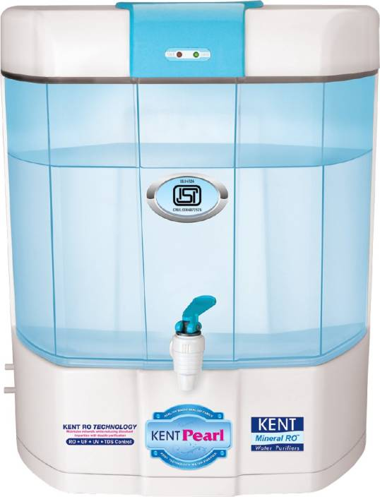 Kent Pearl Mineral RO 8 L RO + UV +UF Water Purifier