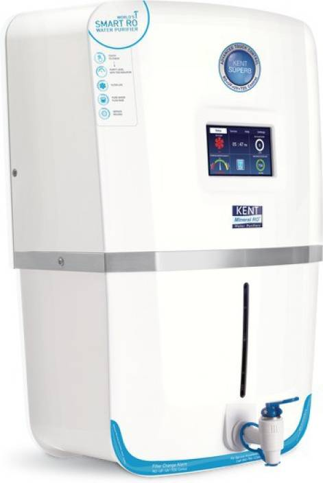 Kent SUPERB RO+UV (11037) 9 L RO + UV +UF Water Purifier