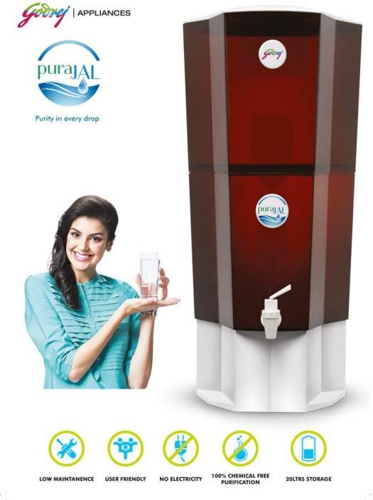 Godrej PuraJAL 20 L Gravity Based Water Purifier