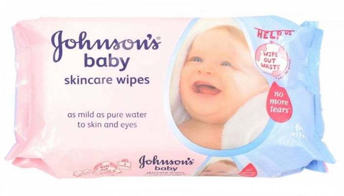 Johnson's Skin Care Wipes