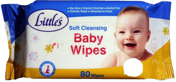 Littles Baby Soft Cleansing Wipes