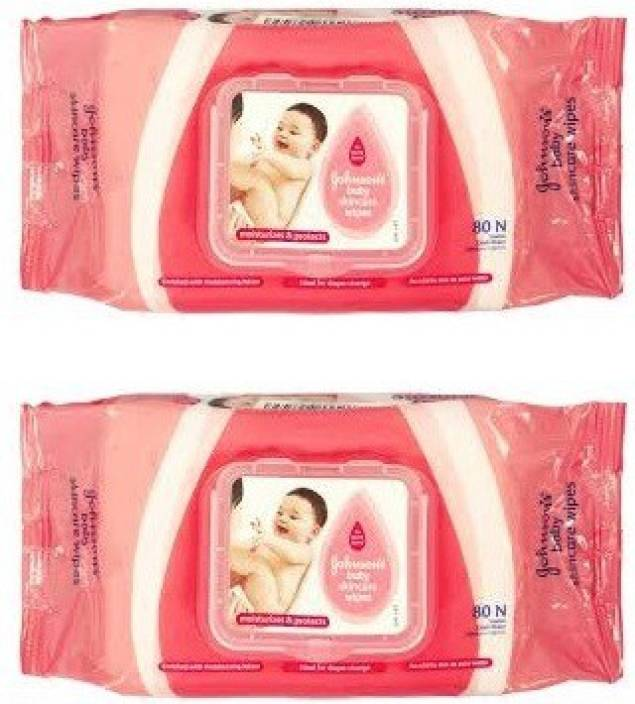 Johnson's Baby Wipes (New) With Flip Top