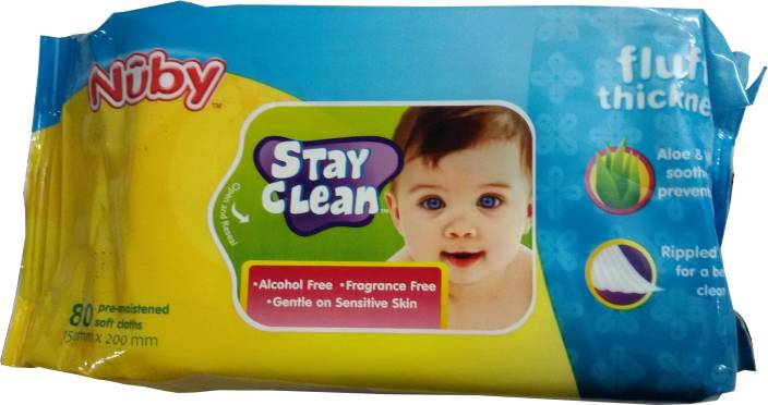 Nuby Stay Clean Soft Clothes