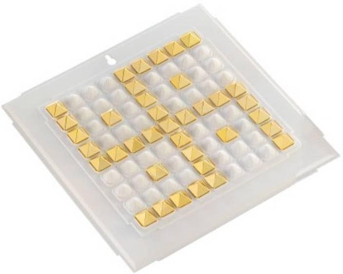 Jiten Swastik - 700 Gold Pyramid Polypropylene Yantra Price