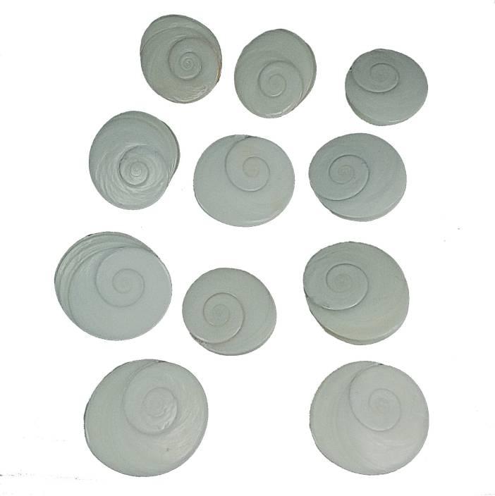 CHAKRADHARI Original Gomati Chakra set of 11 Pieces Energized Mantra Siddha Rare Quality Stoneware Yantra