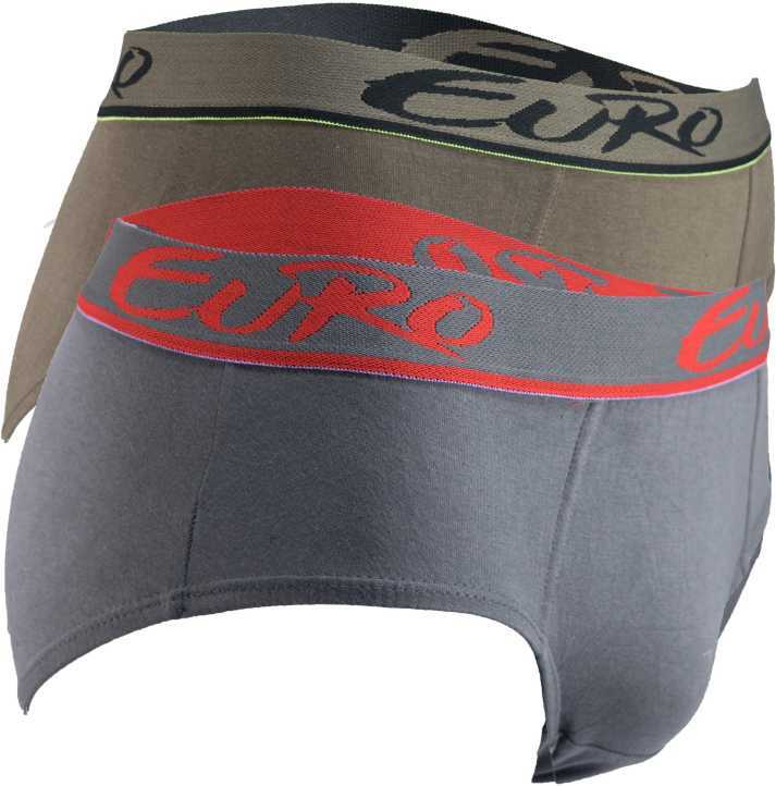 Euro Fashion MICRA Men Brief   Pack of 2
