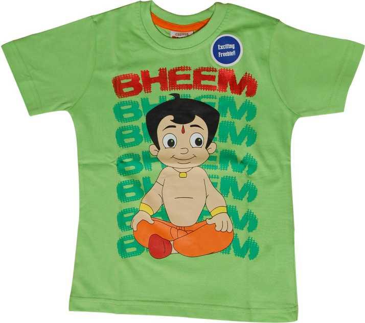 a40d2a1da Chhota Bheem Boys Printed Cotton T Shirt Price in India - Buy Chhota ...