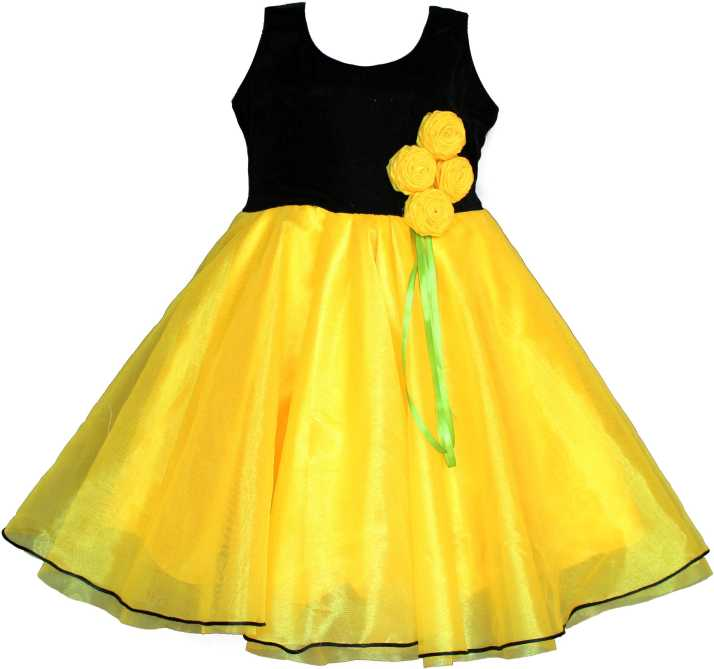 MVD Fashion Girls Midi/Knee Length Party Dress