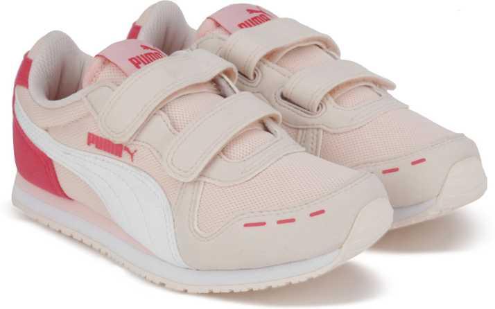 ce09e1472125a9 Puma Boys   Girls Velcro Running Shoes Price in India - Buy Puma ...