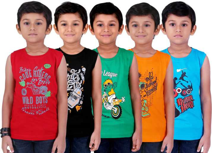 df918b8a1 FabTag - Kiddeo Boys Printed Cotton T Shirt Price in India - Buy ...