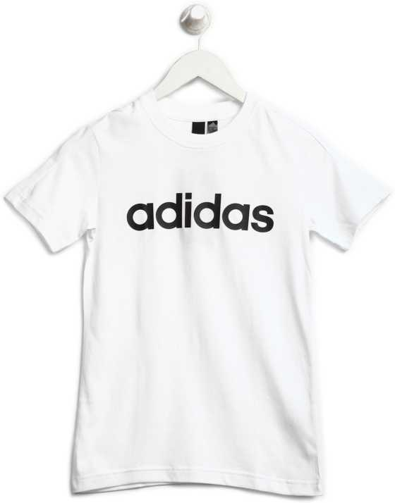 T Buy Price Solid Adidas Boy's Shirt In Rcxdboew India Cotton shdtQxCBr